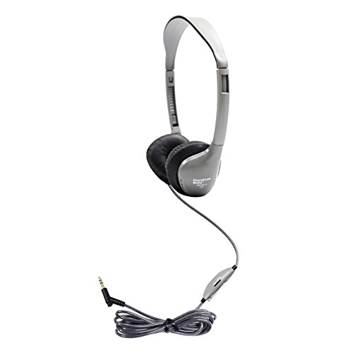 HamiltonBuhl Schoolmate On-Ear Stereo Headphone with Leatherette ()