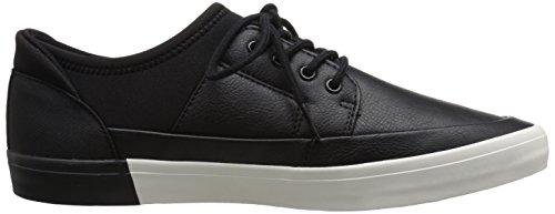 Aldo Men's Haidia Fashion Sneaker, Black Leather, 12 D US