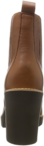 Cognac Hilfiger Boots 4a P1285aola Women''s Brown Tommy winter PIZx0I
