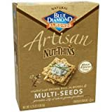 Nut Thins,Multiseed Artisan, 4.25 oz (pack of 12)