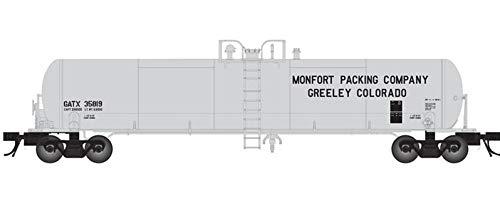 HO GATX 20,700 GAL Tank CAR MONTFORT Packing #35817