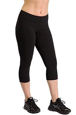 Womens Ecofabric Capri Workout Legging, Capri Yoga Leggings