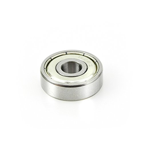 Amana Tool - 47711 Metric Steel Ball Bearing Guide 19mm Overall Dia x 6mm Inner Dia x 6mm