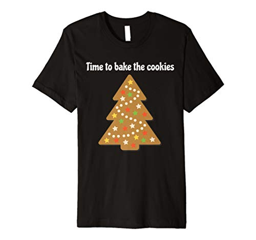 Christmas Tree Cookie Bakers Holiday T-Shirt (Cookies Tree Christmas)