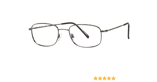 38e3c495ac Amazon.com  Flexon Autoflex 47 Eyeglasses 033 Gunmetal Demo 54 19 140   Clothing