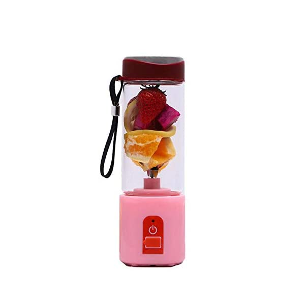 Frullatore elettrico portatile Frullatore USB Mini miscelatori di frutta Spremiagrumi Estrattori di frutta Frullato… 2 spesavip