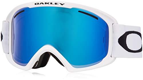 Oakley O Frame 2.0 Snow Goggles, Matte White, Medium, Violet Iridium Lens