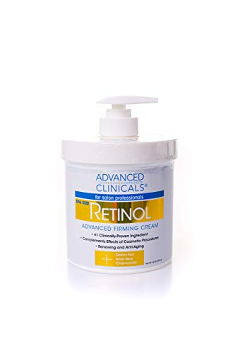 Advanced Clinicals Retinol Cream.