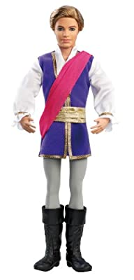 Barbie In The Pink Shoes Prince Siegfried Doll from Mattel