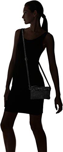 Negro bandolera Crossbody S Franca Tamaris Bag Bolsos Black Mujer XT06qw