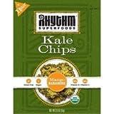Rhythm Superfoods Organic Mango Habanero Kale Chips, 2 Ounce - 12 per case