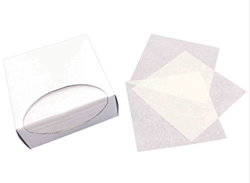 Silicone Coated Parchment Paper (Silicone Coated Non-Stick Parchment Paper Squares, 1000 sheets, (4.5 X 4.5 in))