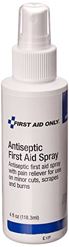 Pac-Kit by First Aid Only 13-080 First Aid Antiseptic Spray, 4 oz Pump (Spray First Aid)