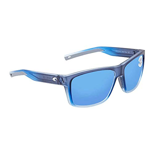 Costa Del Mar Bayside Sunglasses BAY-193-OBMGLP Bahama BlueBlue Mirror 580G
