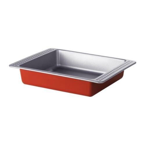 IKEA - molde para horno drömmar, color rojo - 26 x 20 cm: Amazon.es: Hogar