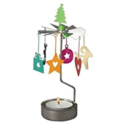 Colorful Christmas Memories Rotary Candleholder