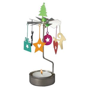 Colorful Christmas Memories Rotary Candleholder by Pluto Produkter
