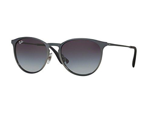 Ray-Ban Womens Erika Metal Sunglasses (RB3539) 192/8G Grey/Grey Metal - Non-Polarized - - Erika Polarized Rb