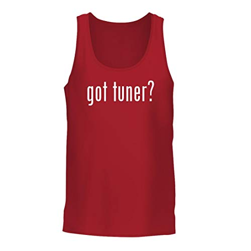(got Tuner? - A Nice Men's Tank Top, Red, Large)