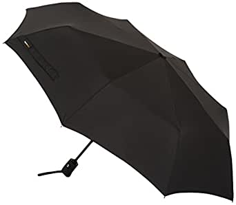 AmazonBasics Automatic Travel Umbrella, Black