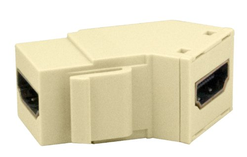 Legrand - On-Q WP1234LA High Definition Multimedia Interface Keystone Insert, Light Almond