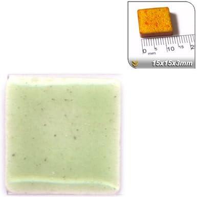 RC03 15x15x3mm Beige Oscuro 50 teselas Mini-Mosaicos