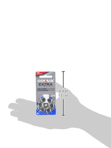 60 Rayovac Extra Mercury Free Hearing Aid Batteries Size: 675 by Rayovac (Image #1)