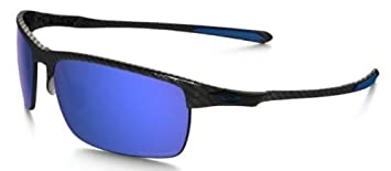 Oakley OO9174 – 05 de fibra de carbono marco polarizadas Ice Iridio 66 mm lente gafas