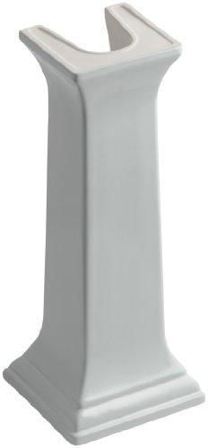 KOHLER K-2267-95 Memoirs Bathroom Sink Pedestal, Ice Grey