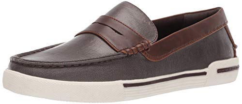 Unlisted by Kenneth Cole Men's UN-Anchor Boat Shoe, Brown, 8 M US