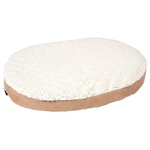 Karlie 10049 Ortho Bed, Oval Cama Perro, Beige, 55 x 40 x 7 cm, XS: Amazon.es: Productos para mascotas