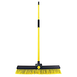 Charles Bentley Bulldozer Yard Broom Sweeper Heavy Duty Industrial With Handle