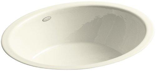 KOHLER K-2816-P5-FD Iron Flute Bathroom Sink, Cane Sugar