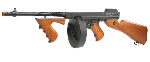 Soft Air Thompson 1928 AEG Airsoft Gun by Thompson