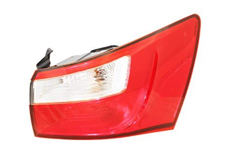 For 2012 2013 2014 2015 2016 2017 Kia Rio Ex/Lx Model Rear Tail Light Taillamp Assembly Passenger Right Side Replacement Capa Certified KI2805109 ()