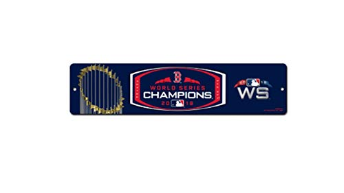 Boston Red Sox World Series Champions Street Sign for $<!--$10.99-->