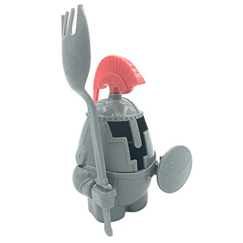 Promisen Soft or Hard Boiled Egg Cup Holder with a Fork Included- Knight Design - Kitchen Utensil Decor (Gray) by Promisen (Image #2)