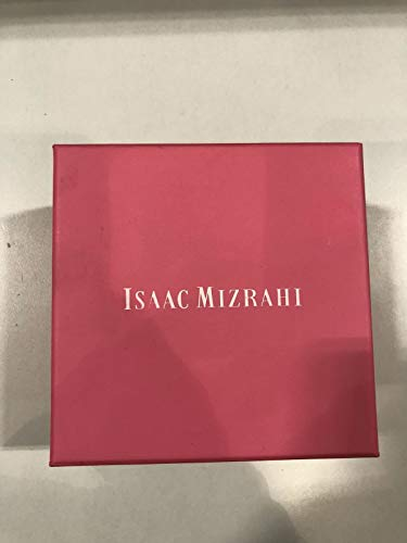 Isaac Mizrahi P1L46AA Smartwatch 42mm - Silver with White Strap