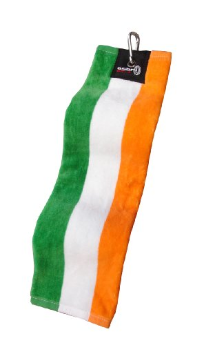 Asbri,Trifold Golf Bag Towel - Ireland Flag by Asbri (Image #1)
