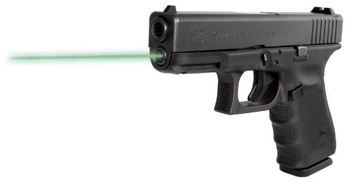 LaserMax Guide Rod Green Laser Sight for Glock 19 Gen 4 Pistols - LMS-G4-19G