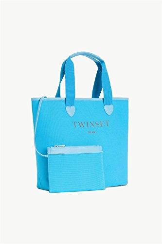 TWIN SET SHOPPING - OS8PNA Turchese