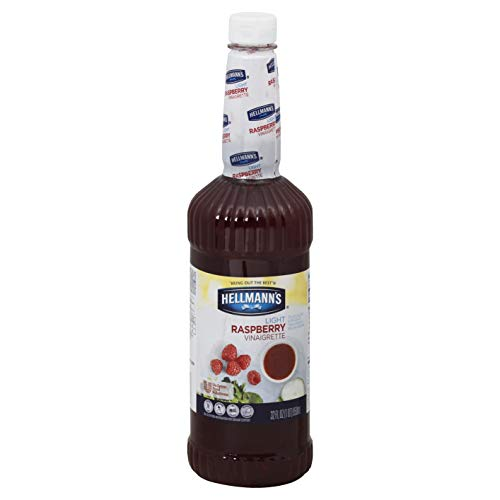- Hellmann's Salad Bar Bottles Light Raspberry Vinaigrette Dressing 32 oz, Pack of 6