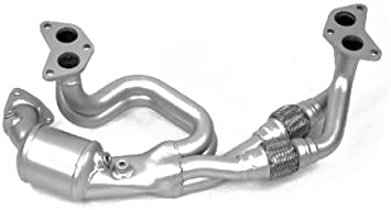 FITS 2006-2007 Subaru Impreza 2.5L Rear Catalytic Converter Direct-Fit
