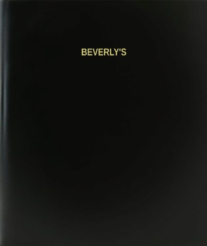 BookFactory® Beverly's Log Book / Journal / Logbook - 120 Page, 8.5
