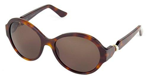 Cartier T8200831 Trinity 56mm Palladium Women's Rimmed Sunglasses