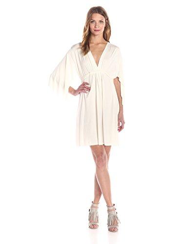 Rachel Pally Women's Mini Caftan Dress, White, X-Small