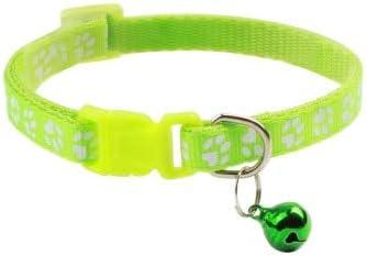 ZGQA-GQA Supplies Cat Collar with Bell Adjustable Buckle Collar Cat Pet Supplies Cat Accessories Collar Small Dog - - -1 Pcs-19-32cm-19-32cm