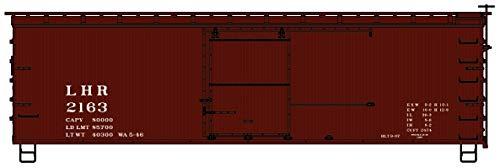 Accurail 1405 HO Scale 36' Double Sheath Wood Boxcar Lehigh & Hudson River ()