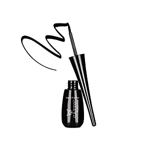 CATTO Professional Waterproof and Smudge Proof Liquid Eyeliner, Black, 8ml
