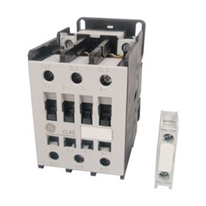 UPC 094714289851, GE CL45A310MS 3 pole 55 AMP contactor with a 240 volt AC coil